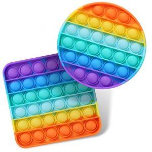 rainbow pop it