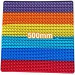 Rainbow 500mm Square