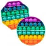 Rainbow Round+Octagon